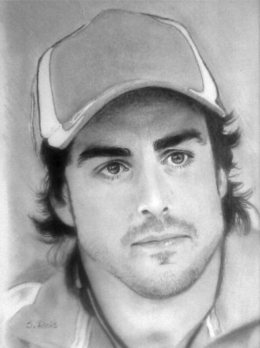 Fernando Alonso by SilviaReis